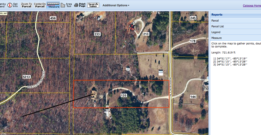 Cell tower distance to William and Jill Cofer's home